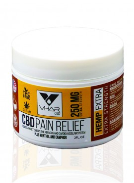 CBD Pain Relief Cream 250mg/2 OZ Jar